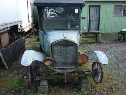 1924 Model TT C cab Cargo Truck barn find for restoration for sale