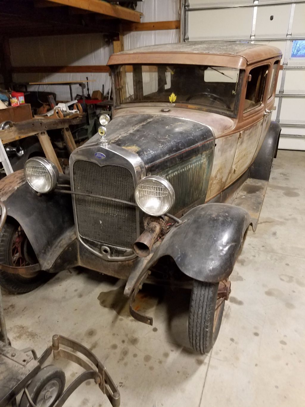 1930 Ford Model A 4door Town Sedan For Sale