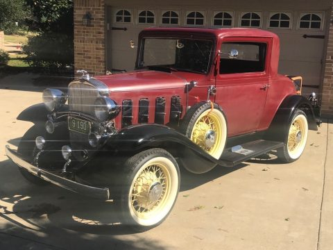 1932 Chevrolet Confederate Coupe Three window for sale