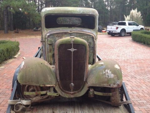 1936 Chevrolet Pickup Basket Case for sale