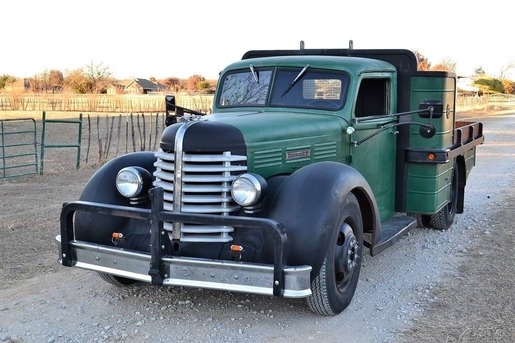 1939 Diamond-T Pickup Truck Custom Dually for sale