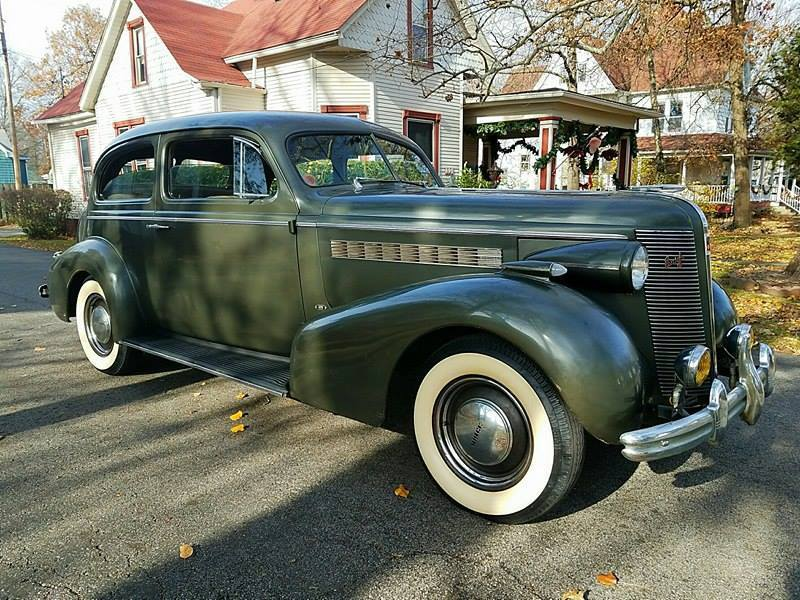 Original 1937 Buick Special 2 door Touring Sedan