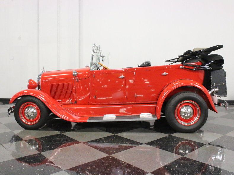 1929 Ford Model A Phaeton – quality build