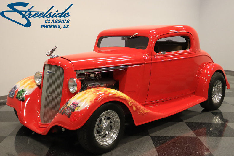 Super NICE 1935 Chevrolet 3 Window Coupe