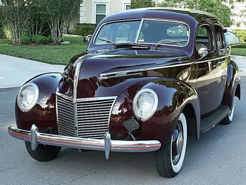 VERY ORIGINAL 1939 Mercury TOWN Sedan for sale