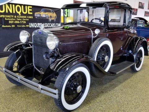 1931 Ford Model A Coupe – Runs great! for sale