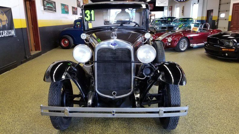 1931 Ford Model A Coupe – Runs great!