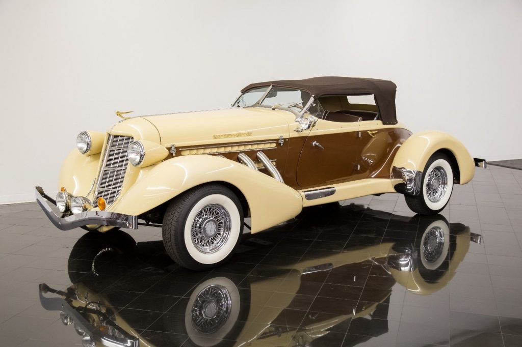 1936 Replica/kit Auburn 876 Boattail Phaeton by California Custom Coach