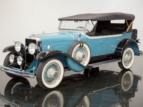 BEAUTIFULLY RESTORED 1929 Lasalle G80 Series 328 4 Passenger Phaeton for sale
