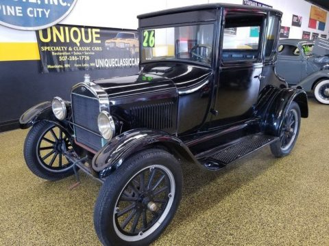 1926 Ford Model T Coupe – runs well! for sale