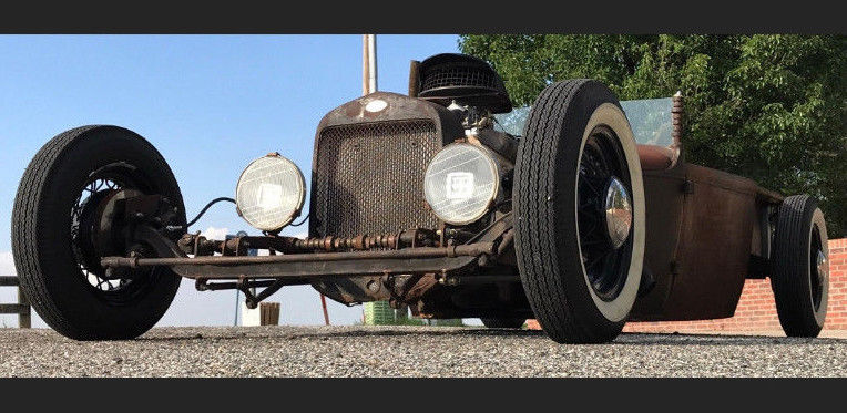 1931 Ford Model A – super fun to drive!