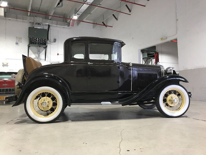 1930 Ford Model A with Rumble Seat