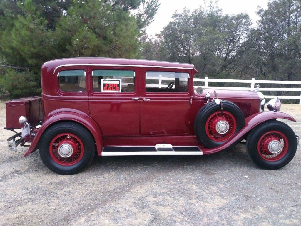 1931 Buick 91 Model 4 Door