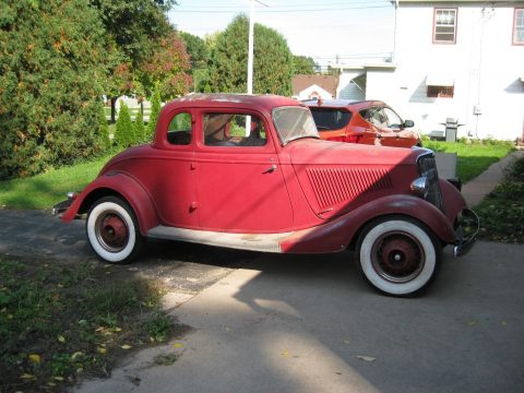 All Steel 1934 Ford Coupe for sale